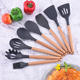 Amazon Top Sale 2019 Silicone Accessories Food Grade 9pcs Kitchen Utensils Set