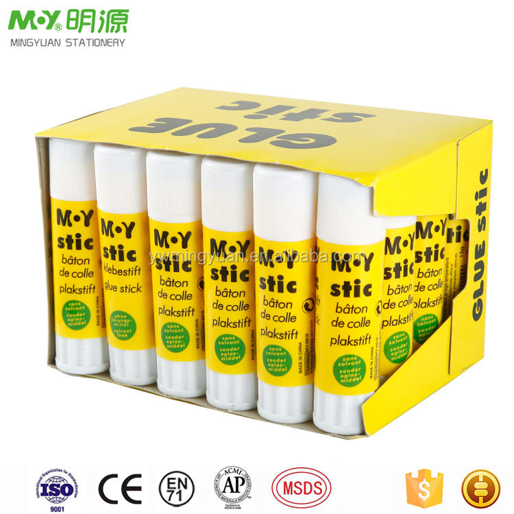 Wholesale high quality factory produce display box pack custom branded glue stick