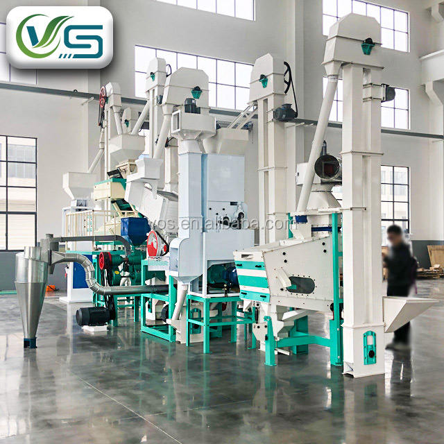 Modern automatic rice mill plant/rice mill price for sale/rice milling machine