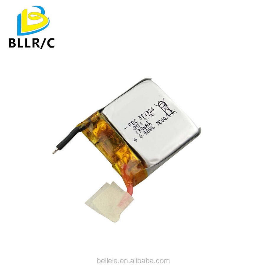 BLLRC 3.7V 180mah lipo battery for syma x20 rc drone rechargeable battery