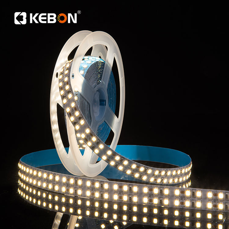 Double row high density 240leds per meter cri 80 12V smd 2835 led strip