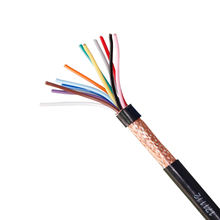 Kingmaking Cable quality pure Copper RVVP 12 core shielded electrical cable alarm cable for the wiring of burglar alarms