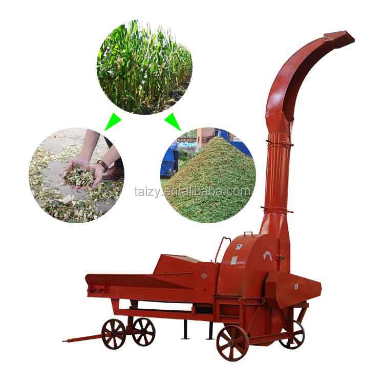 top manufacturer straw chopper silage chaff cutter for sale