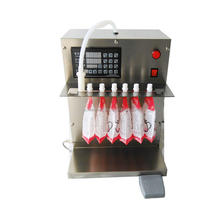 spout pouch juice liquid self-supporting bag filling capping machines for soybean milk