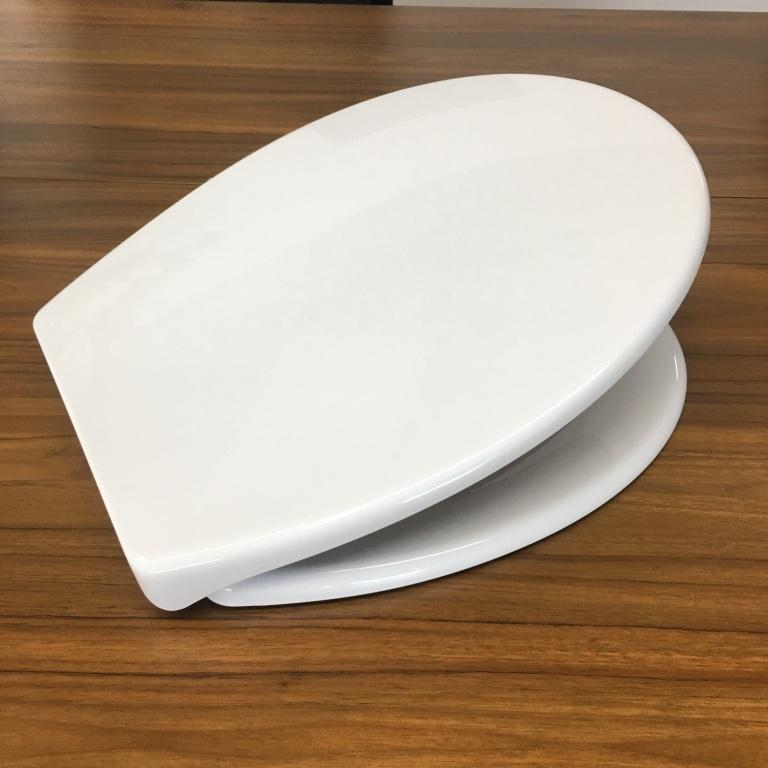 soft close and quick release pp toilet seat cover