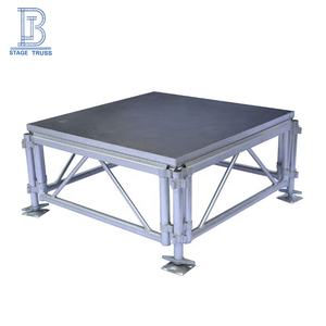 Outdoor mobile concert portable wedding stage decoration platform manufacturers for exhibition sale