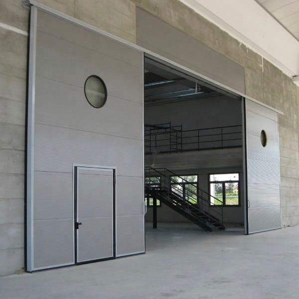 steel industrial fire rated sliding doors used commercial industrial sliding door