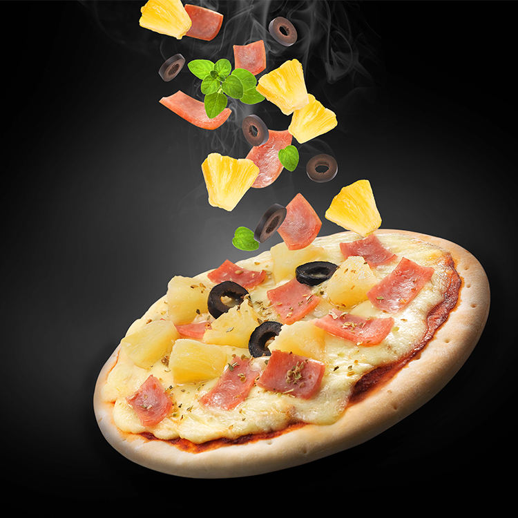 Frozen Cheese Dish Pizza Promotion