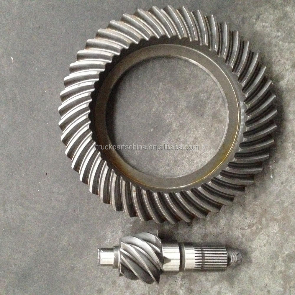 spiral bevel gear 41201-3040 7/45 crown wheel and pinion