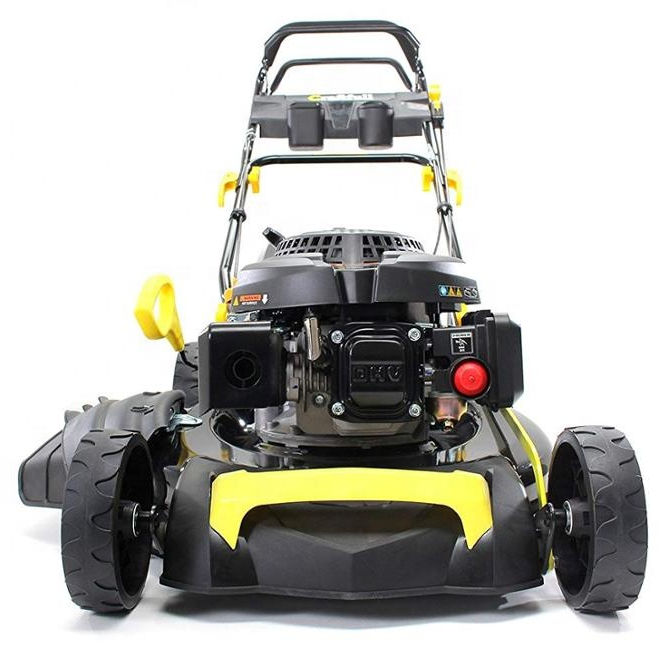 Premium 5in1 6 HP 4,4 KW 196cc del motor <span class=keywords><strong>de</strong></span> gasolina <span class=keywords><strong>de</strong></span> césped con hierba Catcher 62L 53 cm anchura <span class=keywords><strong>de</strong></span> corte GT <span class=keywords><strong>marca</strong></span>