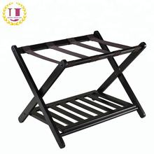 Hotel Articles Black Luggage Rack For Portmanteau