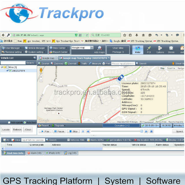 China Leverancier Gps Tracking Software Platform Met Open Source Code Compatibel Met Meest Gps Tracker Type