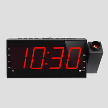 2019 best sale digital smart led light radio 12v alarm clock