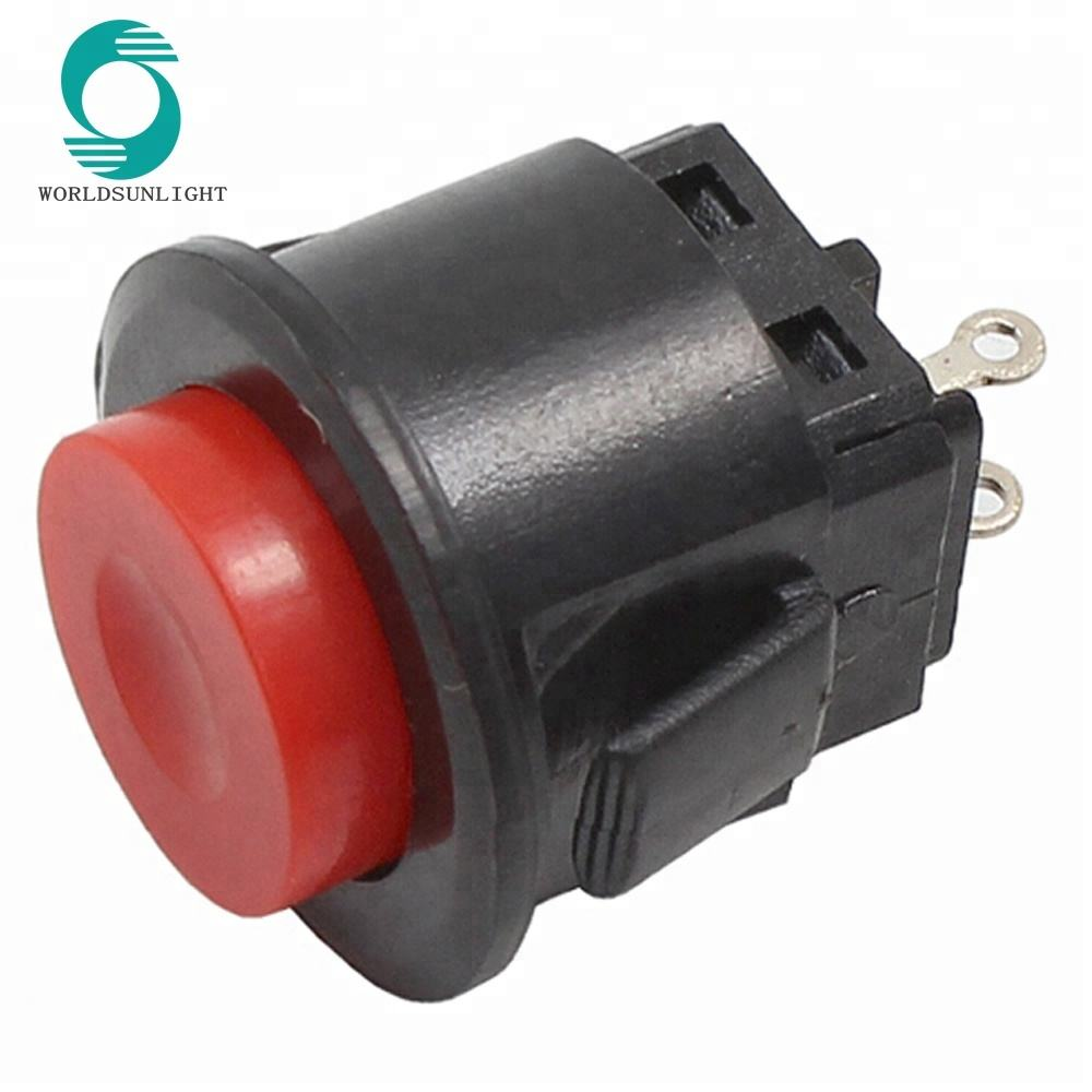 PBS-57A DS-510K Diameter 16mm ON-OFF latching bayonet type mount push button switch