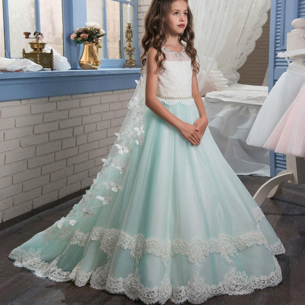Boutique Wholesale Junior Party Dresses Children Girls Wedding