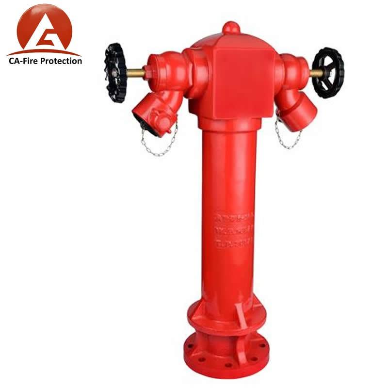 CA fire fighting equipment manufacture pillar fire hydrant