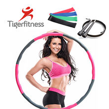 High quality flexible exercise hoops