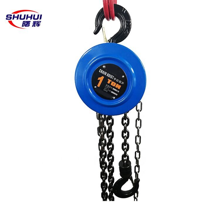 HSZ series hand chain block manual chain hoist with factory price