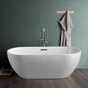 69 Chinese Teen Freestanding Soaking Acrylic Bath Tub