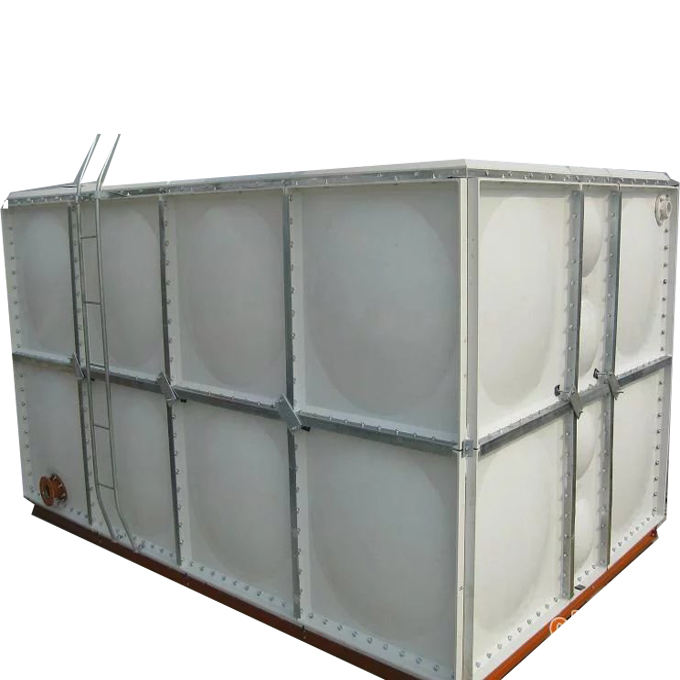 SMC GRP FRP Panel Type Water Storage Tanks For Potable Water Storage