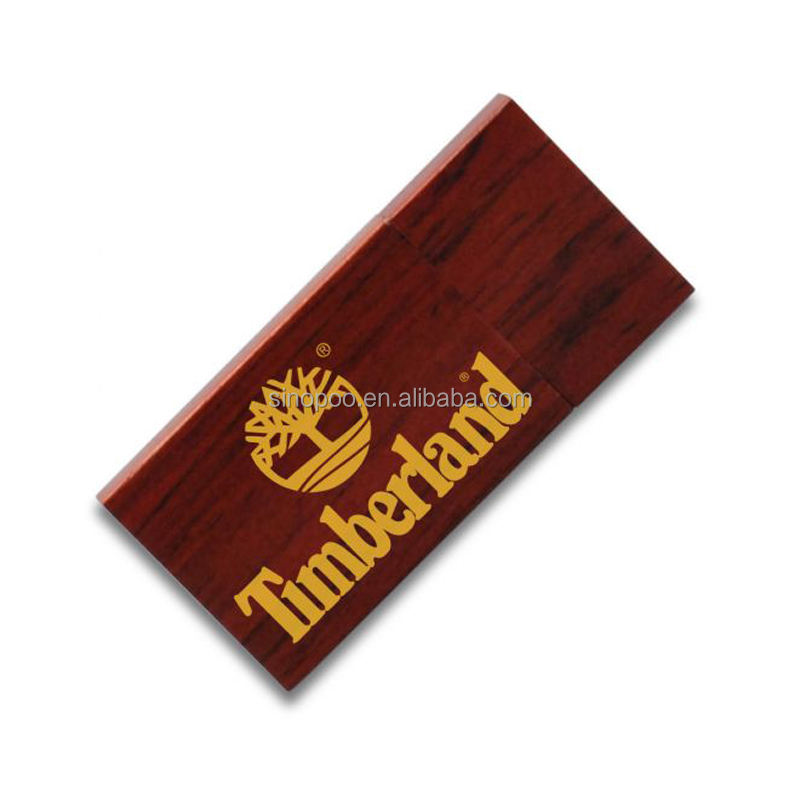 Popular 4GB 8GB 16GB 32GB Eco-friendly Wood Bamboo Flash Drive With Custom Logo Gift Package