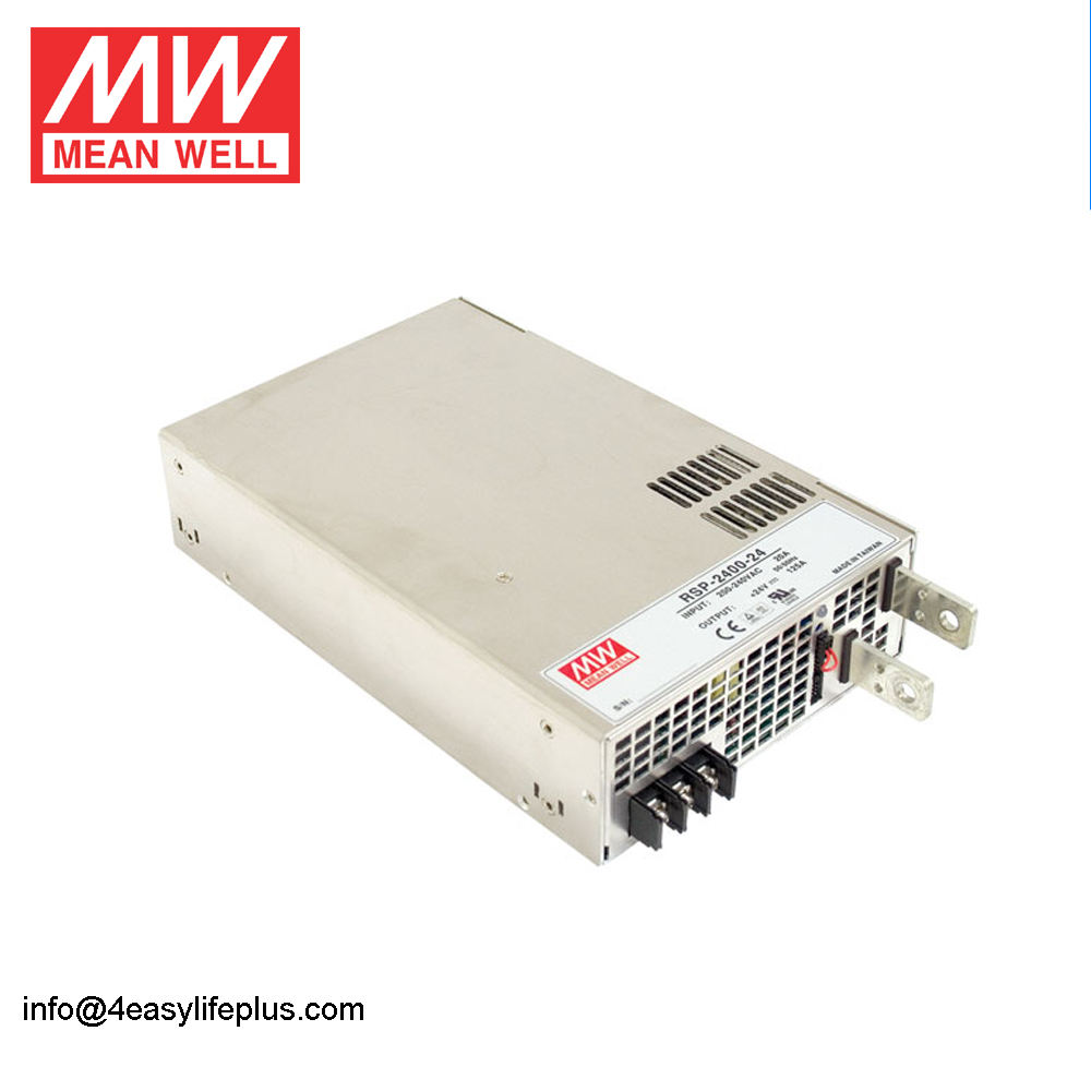 Mean Well RSP-2400-24 2400 W 24 V 100 Amp Daya Tinggi DC Power Supply 2400 W