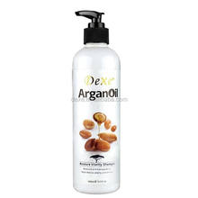 morocco Argan oil shampoo/keratin shampoo/oem hair shampoo private label