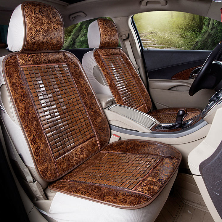 Fashionable cheap cool bamboo car seat cover