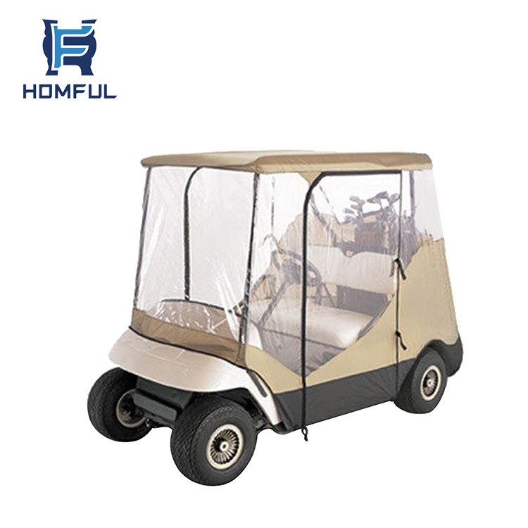 HOMFUL 2 passenger golf buggy car clubcar cover golf cart rain cover