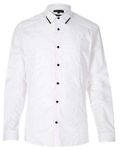 Cheap wholesale mens white dress shirts