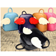Cute small backpack the best ladies match item with changeable wings