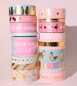 Free samples Singapore Christmas gift wrapping waterproof washi tape