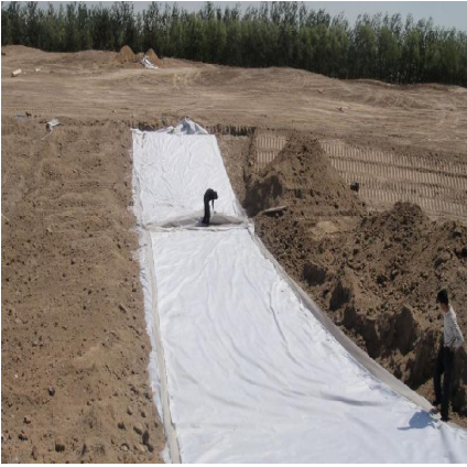Wholesale nonwoven geotextile fabric as road construction material