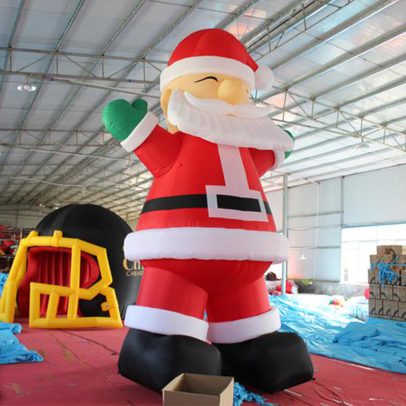 Discount Cheap Outdoor Christmas Decoration, 20 ft Giant Inflatable Santa