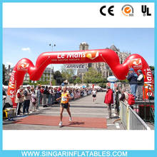 Custom cheap advertising inflatable arches rent for commercial use