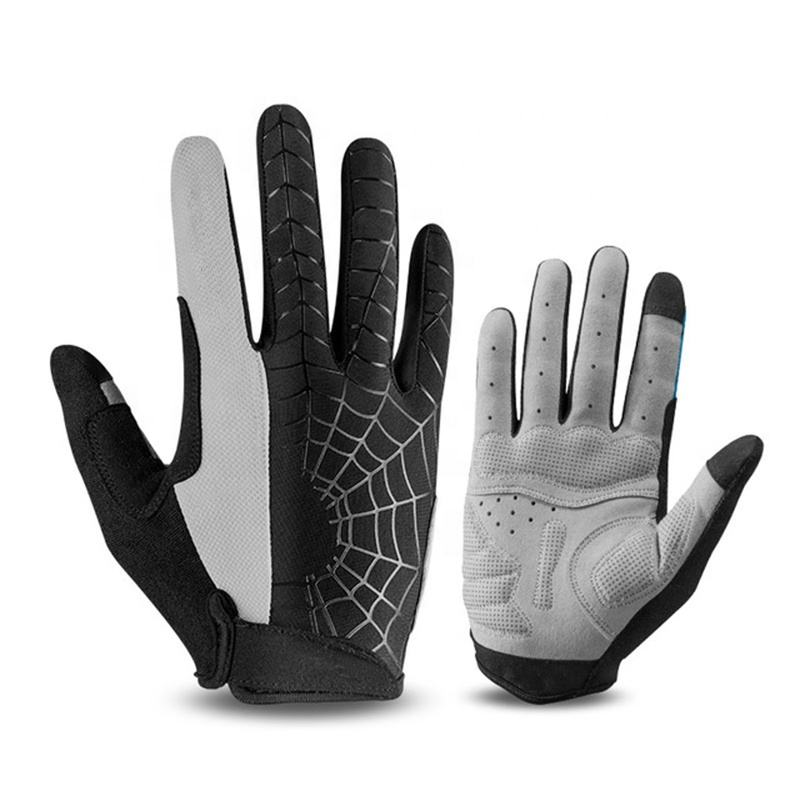 OEM Available Breathable Mesh Full Gym Gloves Finger Gel Pad Touch Screen Cycling Motorcycle Riding Bike Bicycle Sport Gloves