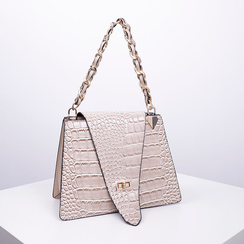 Unique Hand bags 2019 women lady fashion crocodile skin tote bags SH984