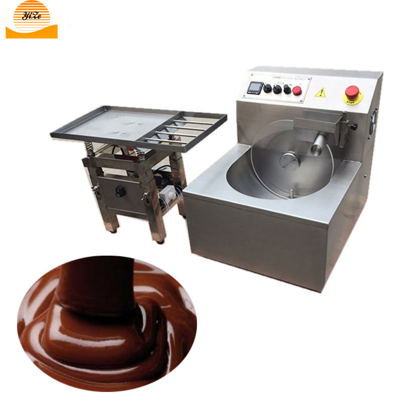 En Acier inoxydable Machine de Trempe Au Chocolat Fondant Au Chocolat Mélangeur Machine