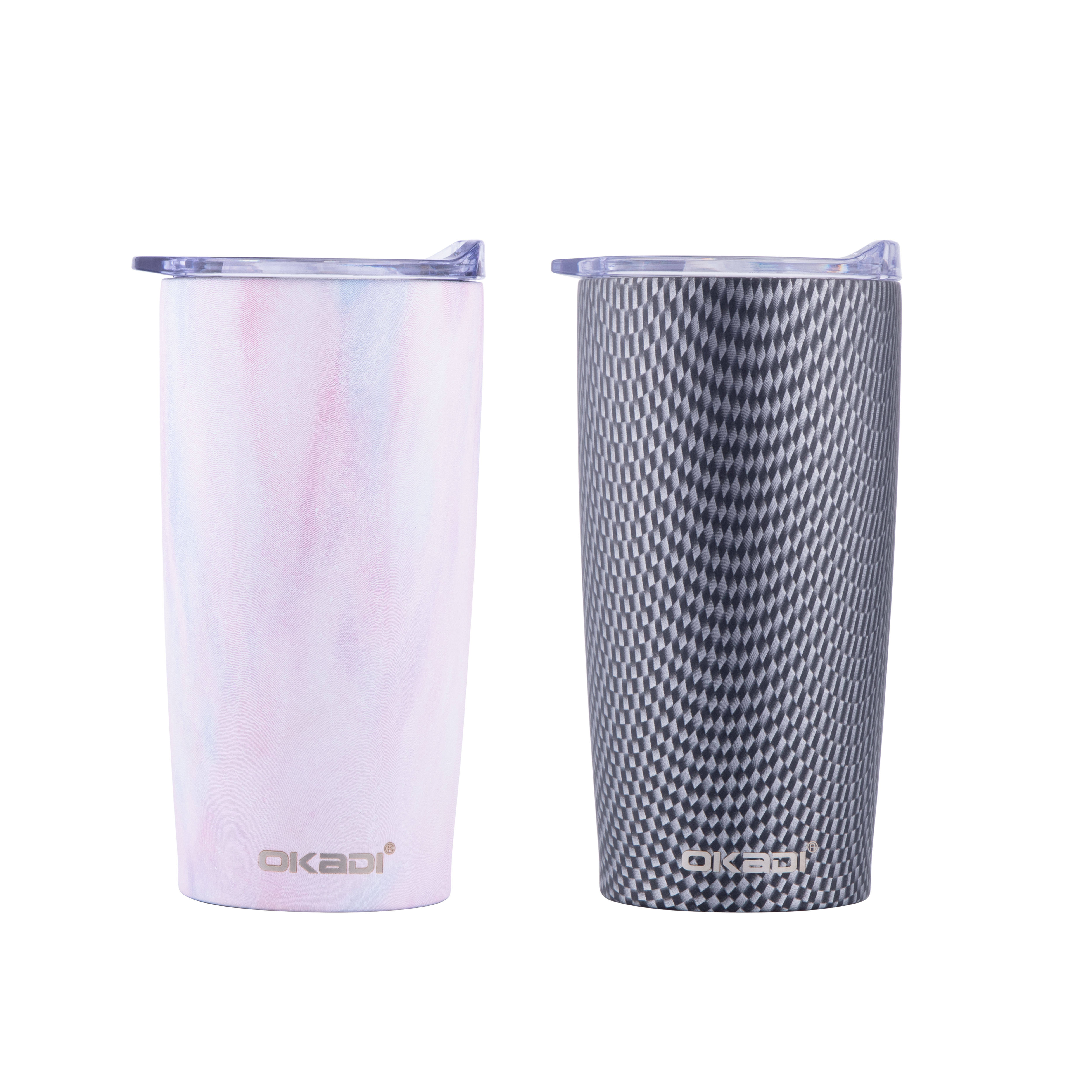 2019 Privated Label 20oz Modern Insulated Tumbler with Straw, Wholesale Stainless Steel Tumbler Cups