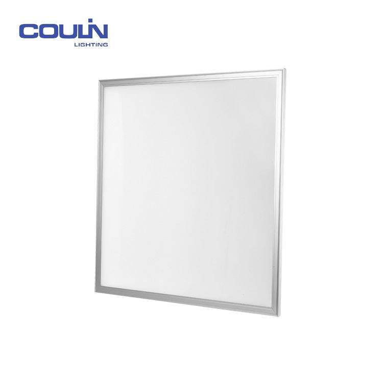 Coulin 40W square / round waterproof led panel light flush mounting panel,600x600 ceiling led panel light