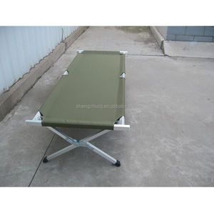 aluminum folding bed (camping bed)