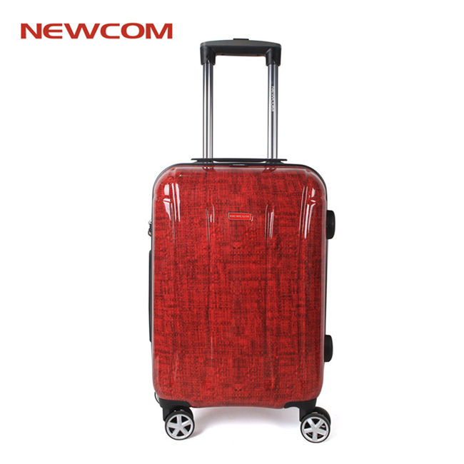 Newcom Smart Business Travel 100% PC Trolley Case cabin Luggage Set with TSA lock
