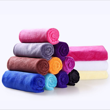 best selling 40*40cm size microfiber material cleaning cloth for car