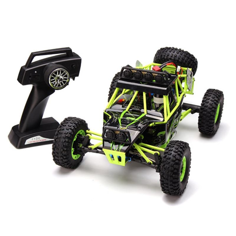 2019 New Arrival Original Wltoys 12428 RC Climbing Car Toys 1/12 High Speed RC car 4WD Remote Control Car 50KM/H