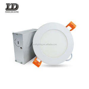 ETL listed LED round Recessed Downlight ultra thin panel light