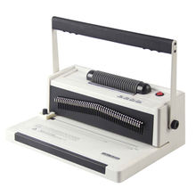 Easy For Bind Manual Spiral Coil Binding Machine with Electrical Inserter Roller S20A