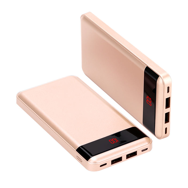 Beste qualität 2 <span class=keywords><strong>usb</strong></span> power bank 10000 mah tragbare anpassen private label power bank