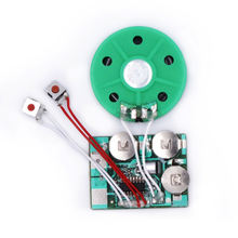 Customized recordable music box voice recording sound module with led light for plush toy