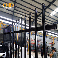 fence wrought iron solid used wrought iron fence panels/curved wrought iron fence panel