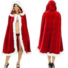 Christmas Costume Ball Christmas Cloak  Cape European and American Boutique Cloak Costume